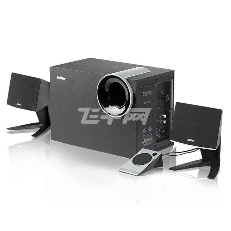 漫步者(EDIFIER) R201T北美版 2.1声道 多媒体音箱 (黑色)评价