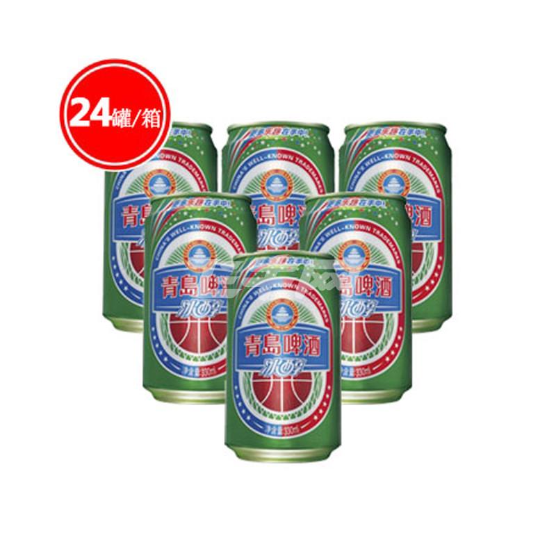 青岛啤酒 青岛冰醇啤酒 330ml*24罐/箱