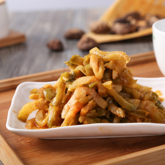 阿高榨菜师傅条158g羹的v榨菜菜谱图片