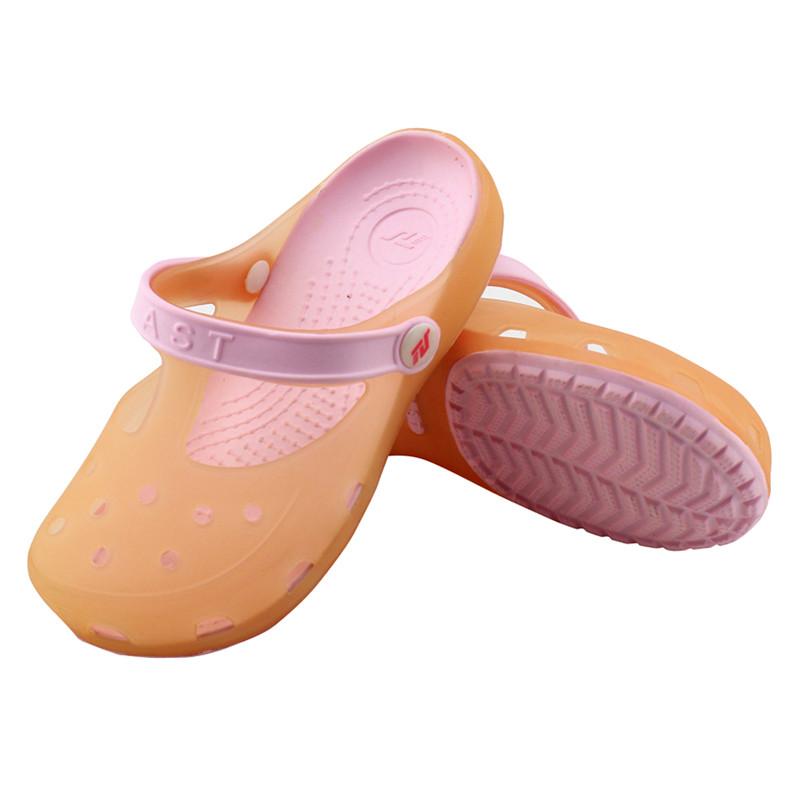御乐youlov 儿童花园鞋洞洞鞋大童可爱凉鞋休闲凉拖鞋