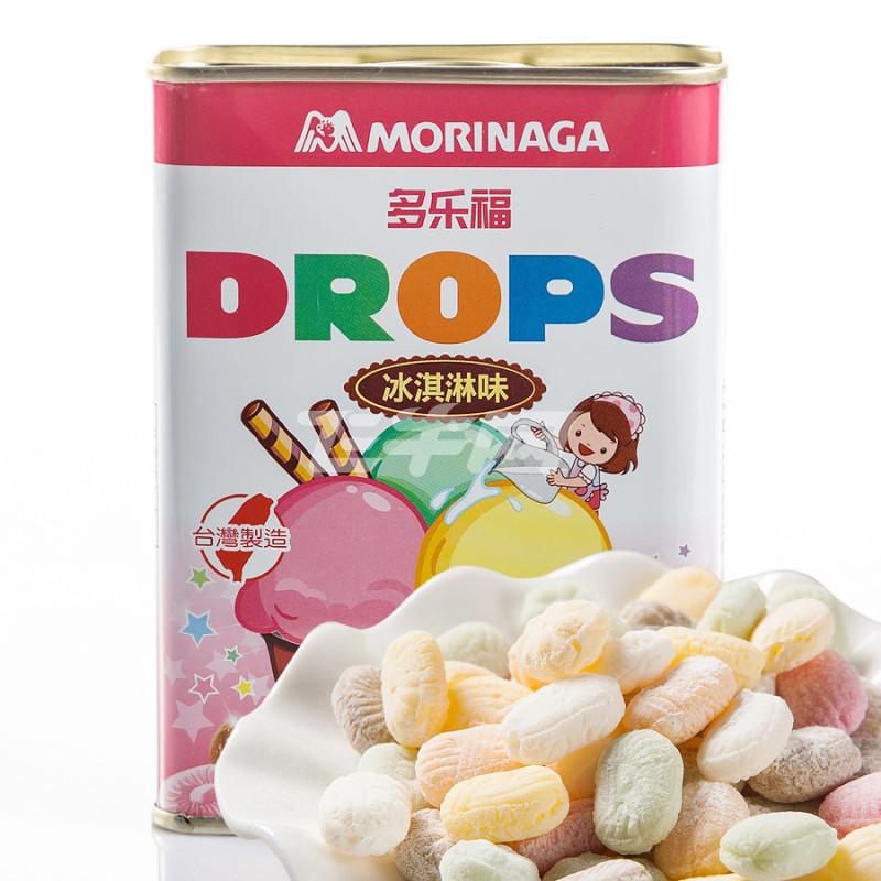 台湾进口 森永多乐福水果糖(冰淇淋味) 180g/盒