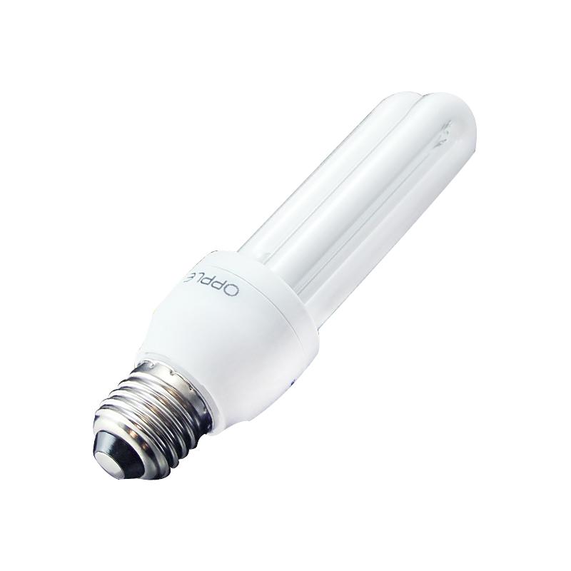 欧普细管2u-8w-e27白光节能灯