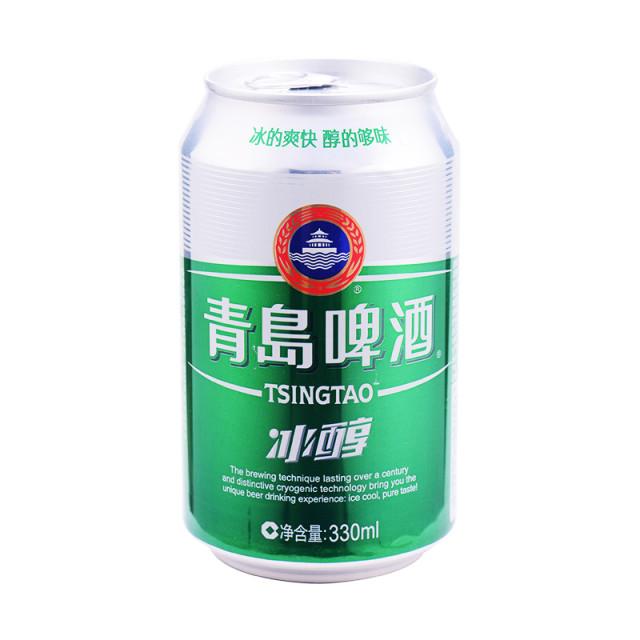青岛啤酒冰醇330ml/听