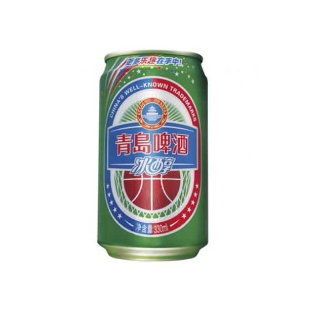 青岛冰醇啤酒330ml/罐装
