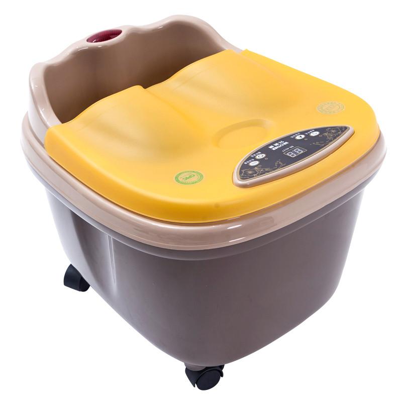 兄弟牌 豪华电动按摩足浴盆 智能养生足浴器 加热按摩