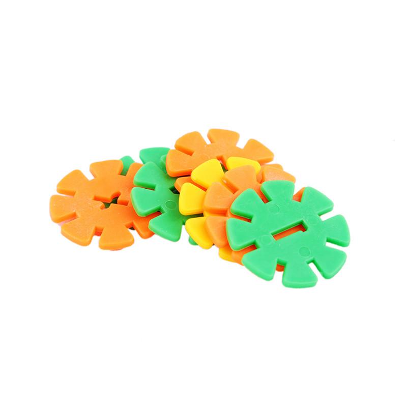 益智玩具 积木拼图 吉达雪花片2036 24*36*3cm
