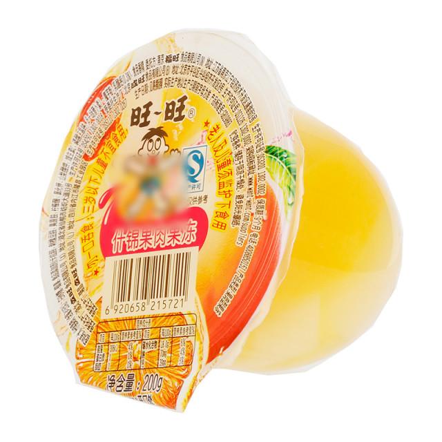 两米高美女旺旺_旺旺 什锦果肉果冻 200g/杯