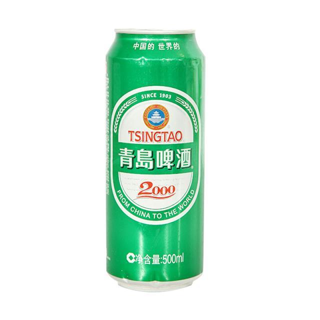 青岛2000啤酒500ml/罐