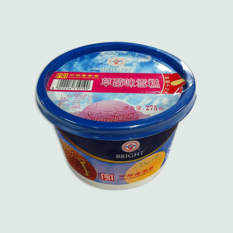光明牌草莓冰淇淋 275克/杯