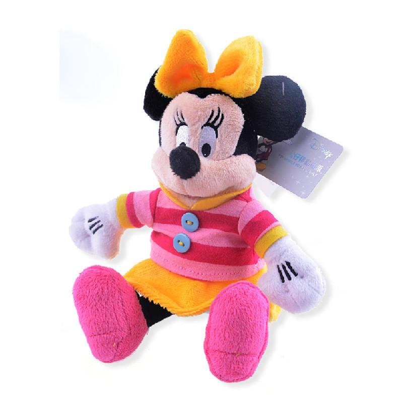迪士尼 坐姿米妮 可爱卡通毛绒公仔移动电源充电宝 5200毫安
