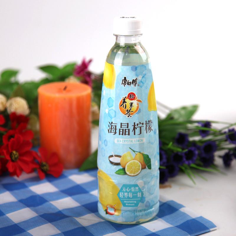 康师傅海晶柠檬饮料500ml/瓶