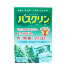 日本进口 巴斯克林(BATHCLIN) 温热香浴盐(森林香型) 20g*5袋