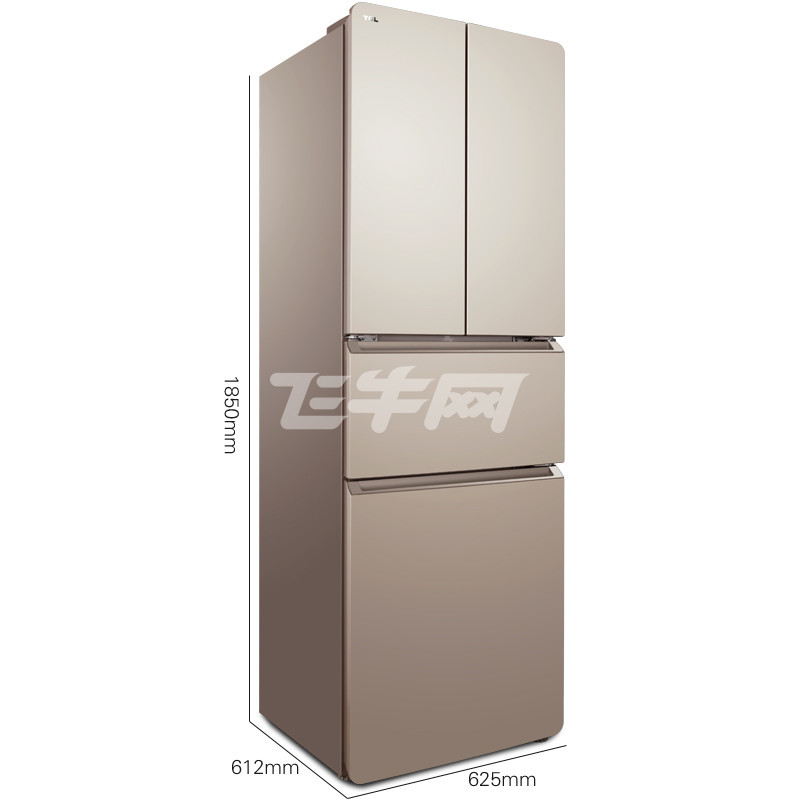 tcl bcd-288kr50 288升 多门 冰箱