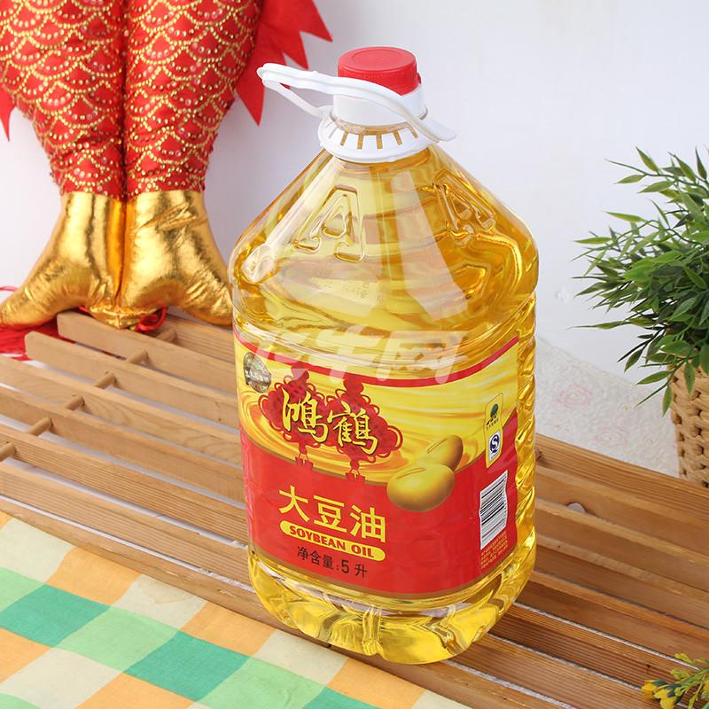 鸿鹤大豆油一级5l【价格,正品,报价】-飞牛网