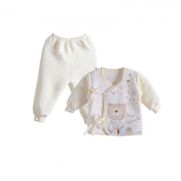 小素材初生婴儿衣服 婴儿宝宝和尚服