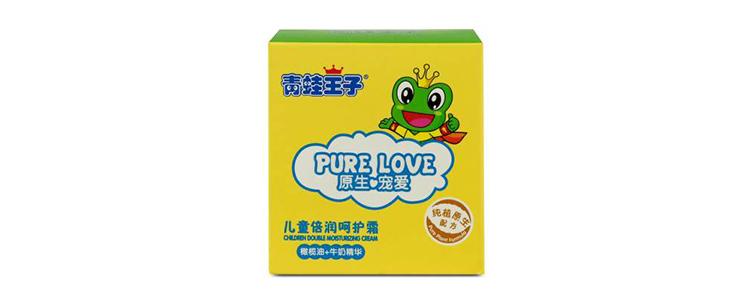 青蛙王子儿童倍润呵护霜(鲜奶)50g