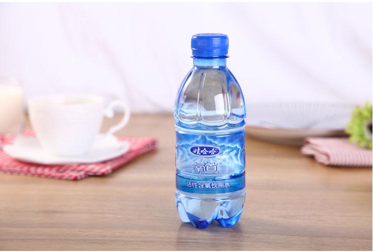 娃哈哈含氧水350ml/瓶图片