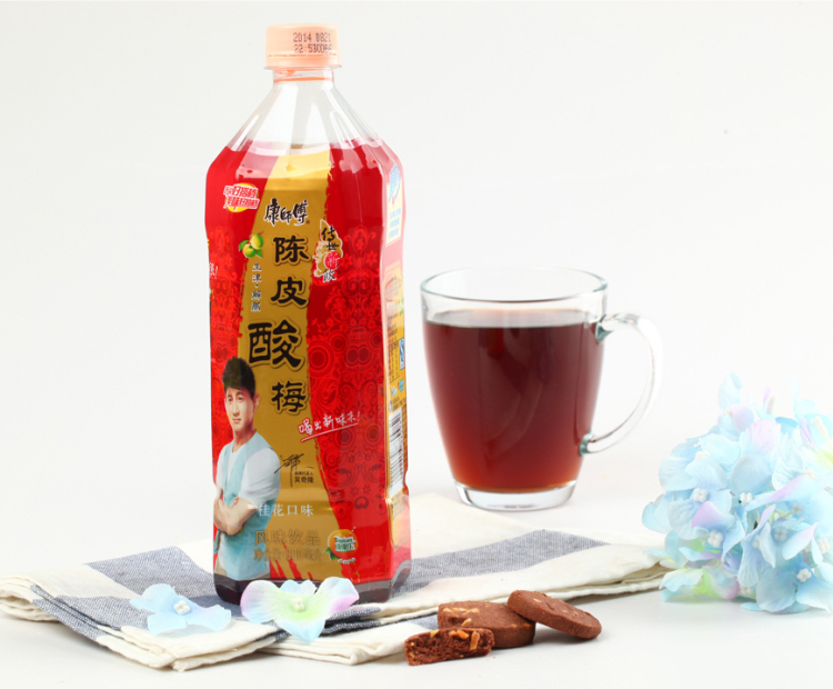 康师傅酸梅汤900ml 瓶