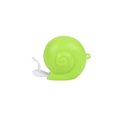 晨光文具可爱蜗牛小卷尺 立体卡通皮卷尺 迷你便携居家小卷尺子1m aht